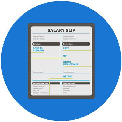 Salary Slips for The Last Three Months