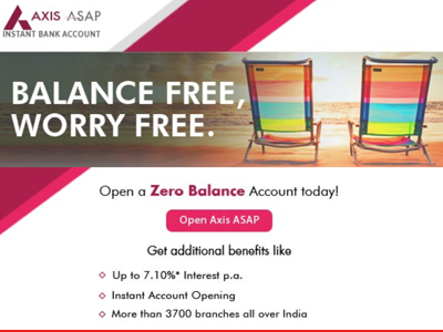 axis bank saving account atm charges